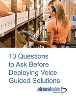 voice guided solutions questions