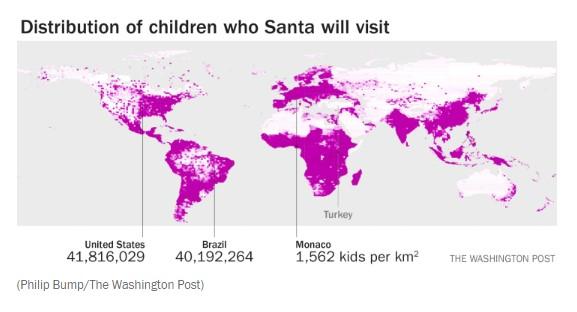 191223 Santa Stats Blog - Distribution of Children Visited.png
