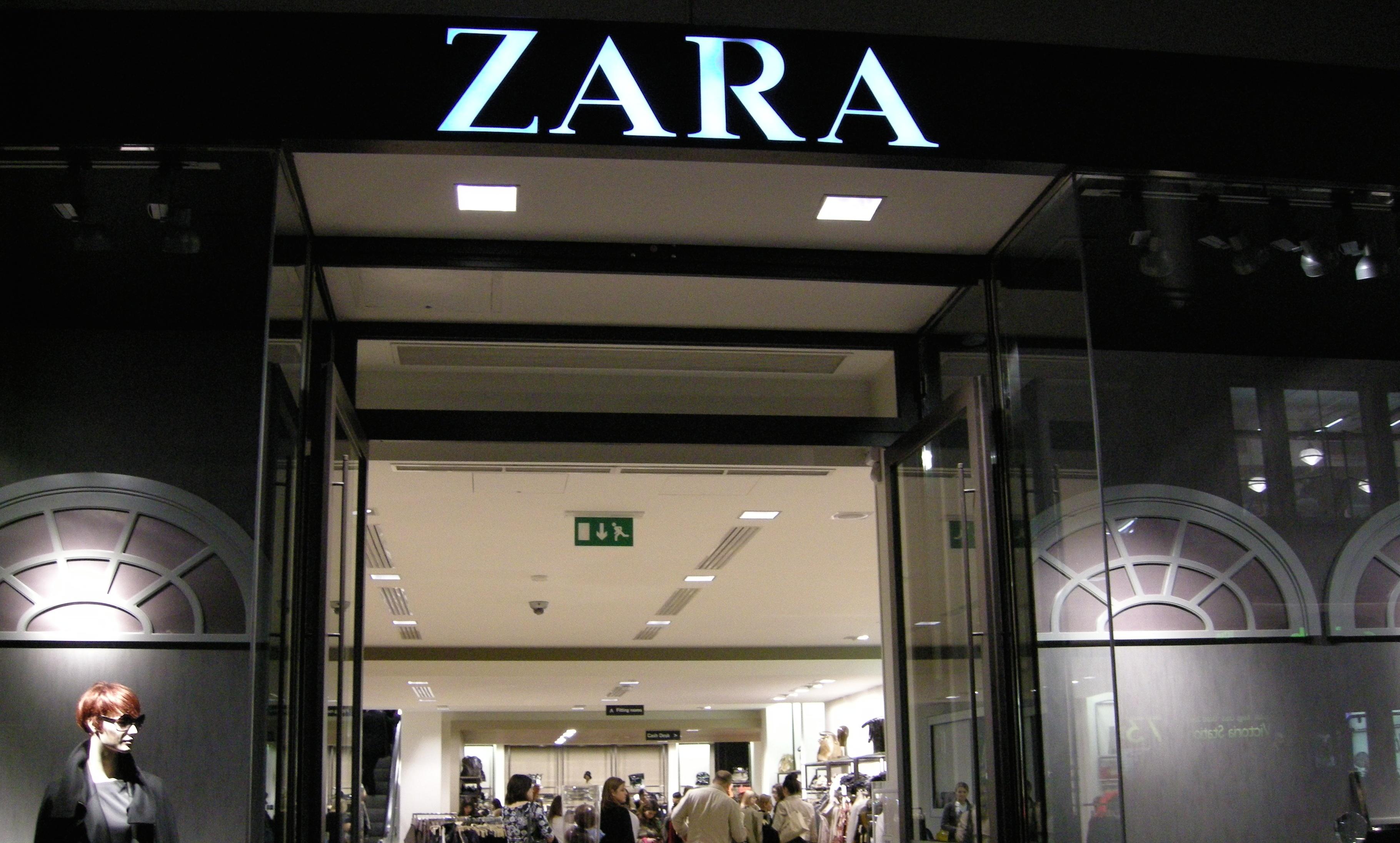 how zara controls stock rfid